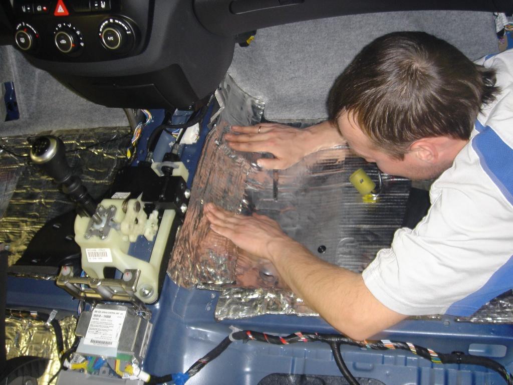 Как сделать шумоизоляцию в автомобиле своими руками